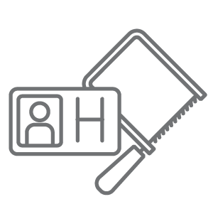 digital toolbox icon set handyman grey