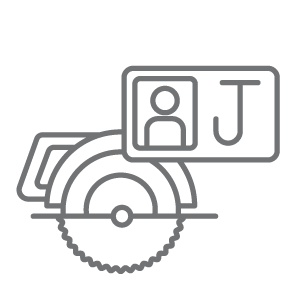 digital toolbox icon set journey man grey