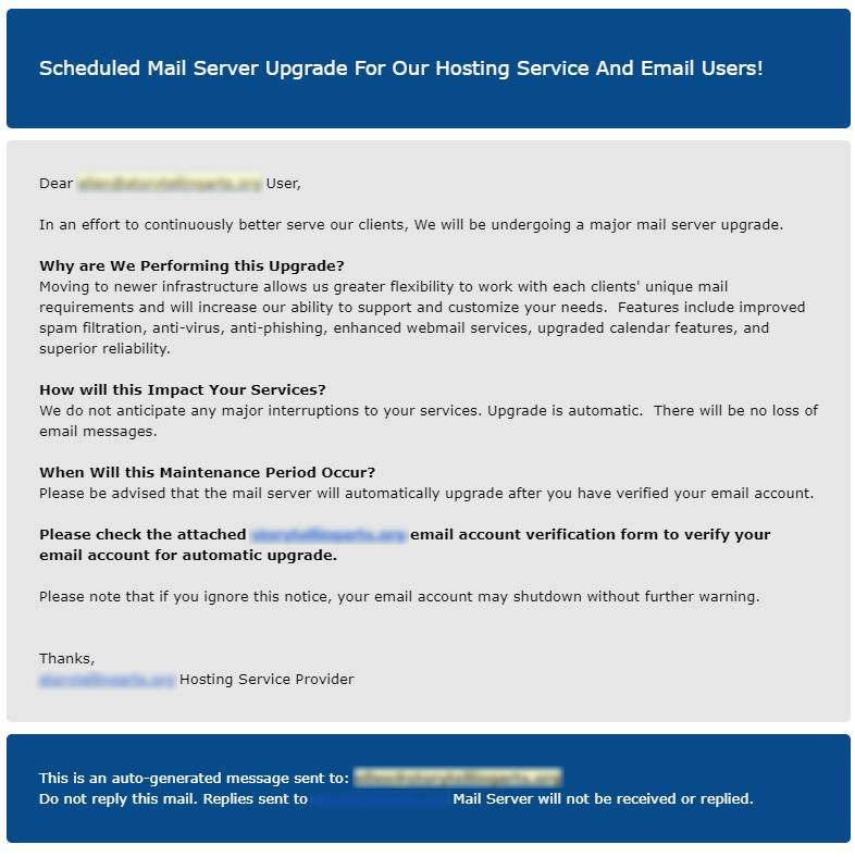 DTB phishing