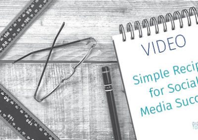 Video: Simple Recipe for Social Media Success