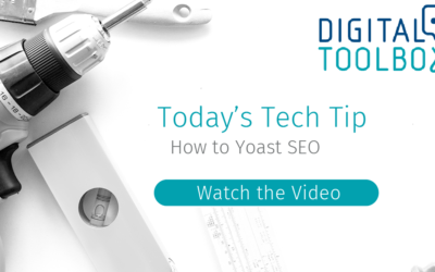 Tech Tip: Introduction to Yoast SEO